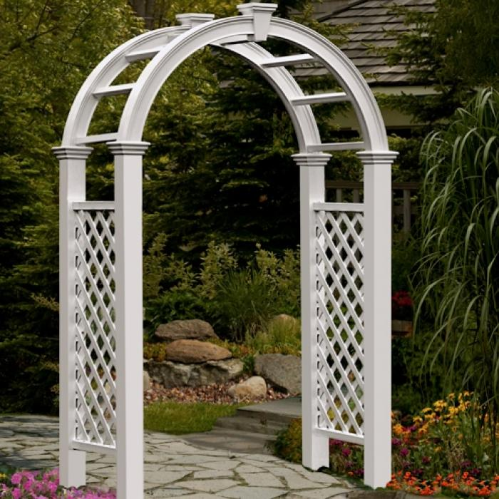 Arched Top Arbors - Nantucket Legacy Arbor