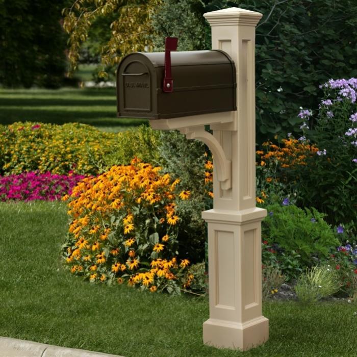 Mailbox Posts - Newport Plus Single