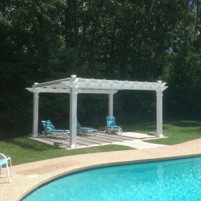 "Freestanding Pergolas - Bradenton (with 8"" x 8"" posts)"