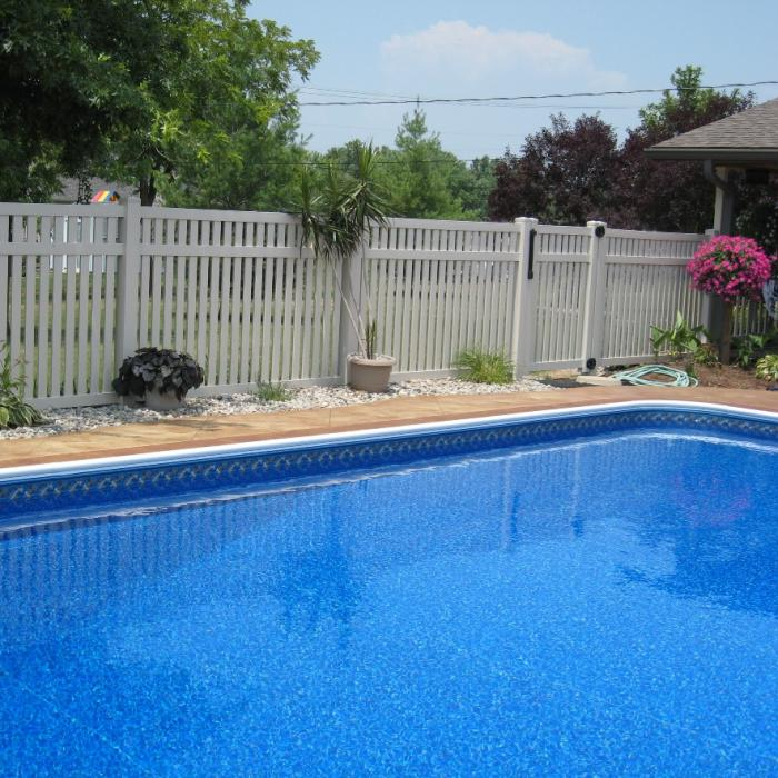 Crestview Pool Fence - 5' High