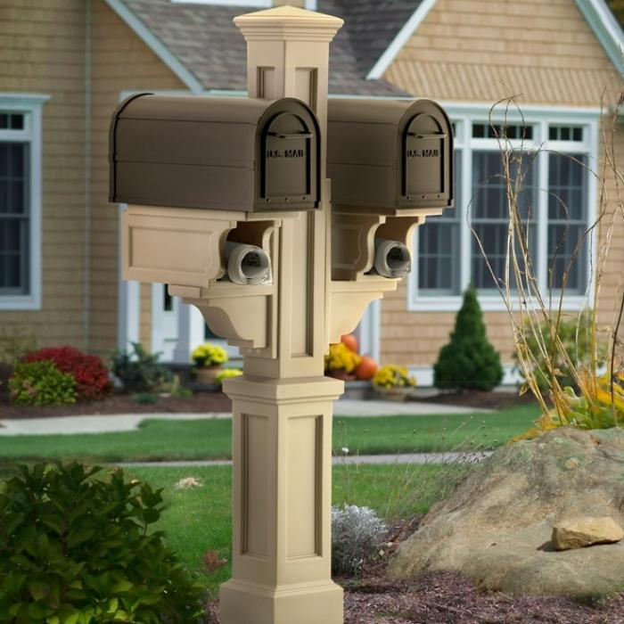 Mailbox Posts - Rockport Double