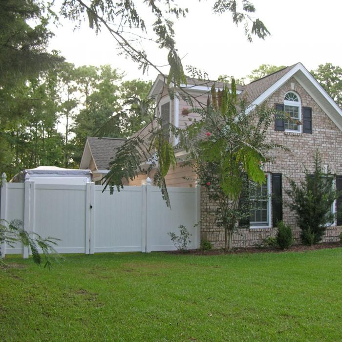 Savannah Privacy Fence - 5' High