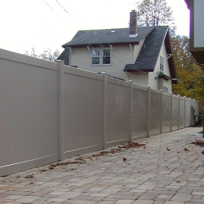 Savannah Privacy Fence - 5' High