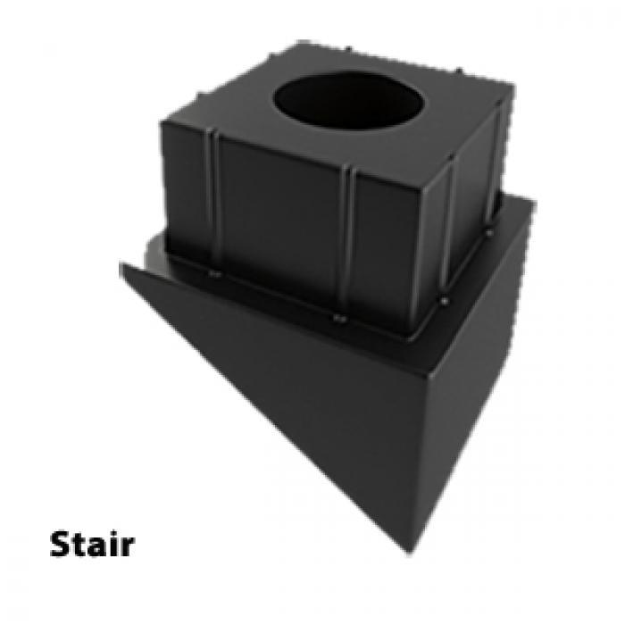Aluminum Balusters - Square Connectors