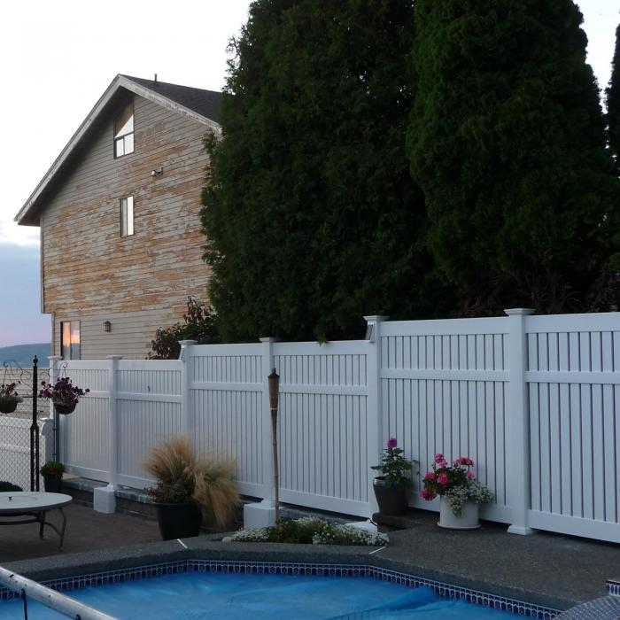 Huntington Semi-Privacy Fence - 6' High
