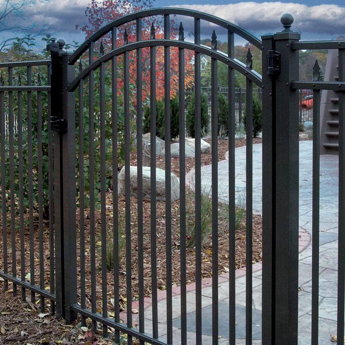 Toledo Aluminum Fence - 5' High