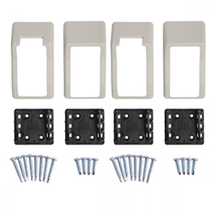 "Premium Brackets - 2"" x 3.5"" 2-Piece Stair Kit"