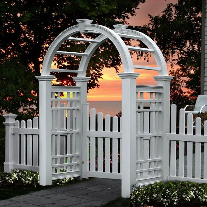 Arched Top Arbors - Westchester