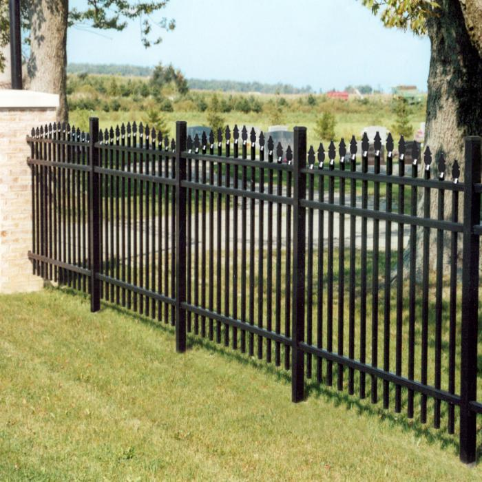 Wilmington Aluminum Fence - 4' High
