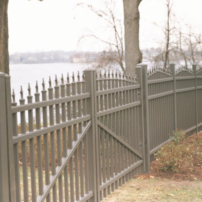 Wilmington Aluminum Fence - 5' High