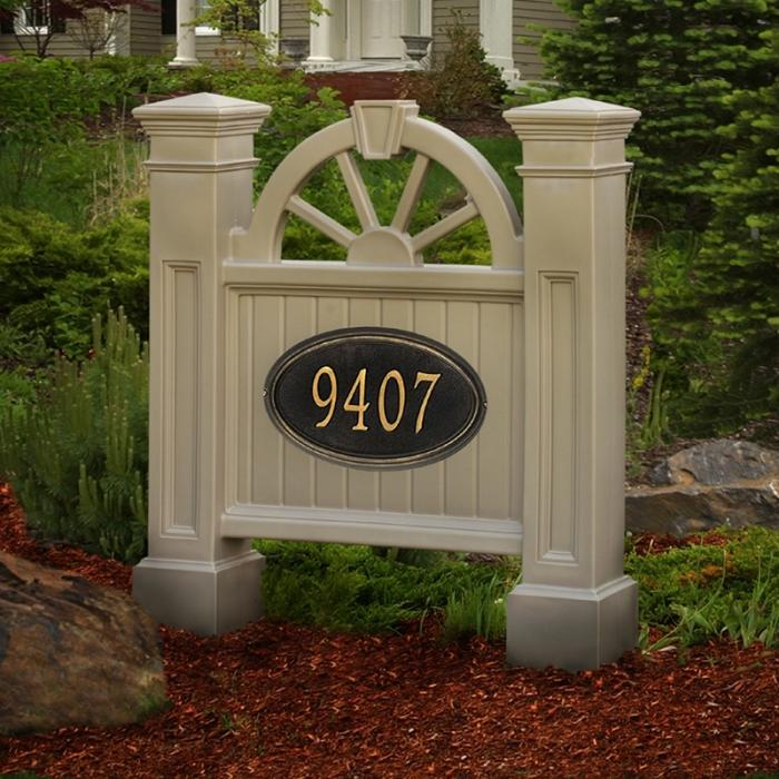 Address Posts and Signs - Winchester