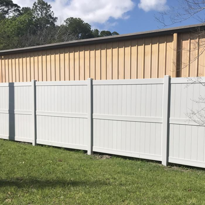 8 Vinyl Privacy Fence Augusta Weatherables