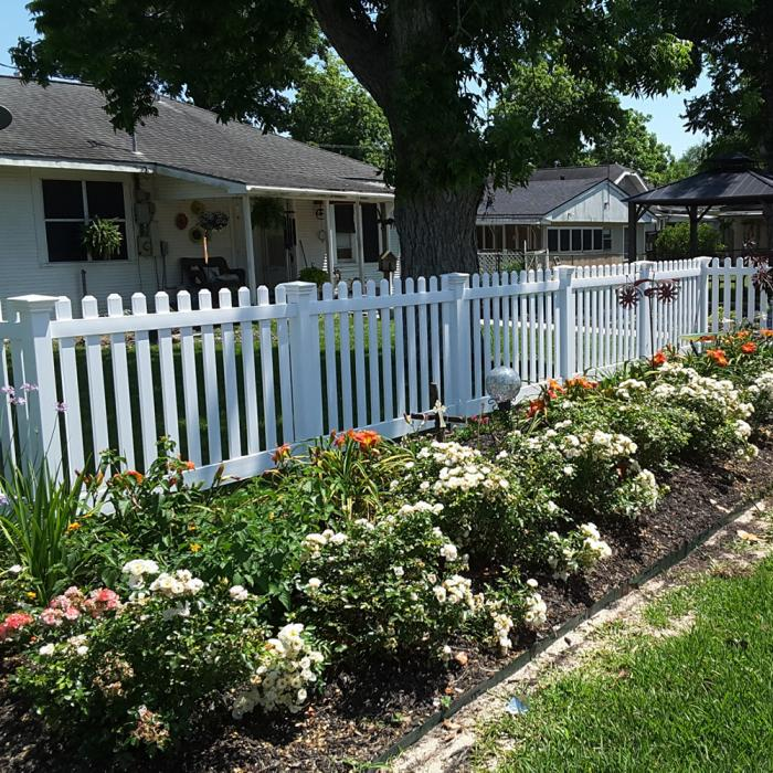 3 Plymouth Vinyl Picket Fence Weatherables