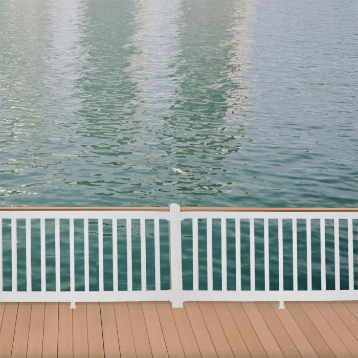 "42"" Bristol™ Deck Board Railing | Vinyl Railing | Weatherables"