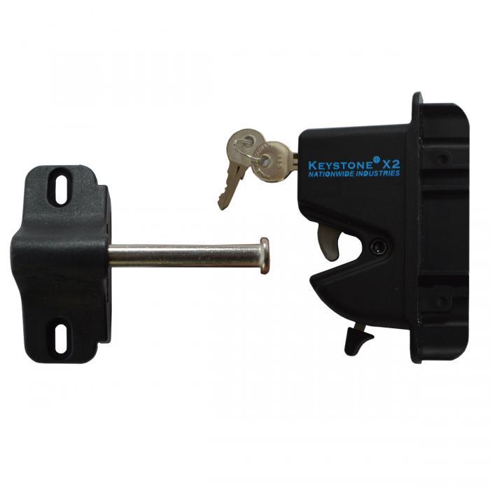 Keystone X2 One Sided Lockable Latch Vinyl Fencing Amp Railing