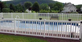 Vinyl Pool Fencing Vinyl Fencing Weatherables
