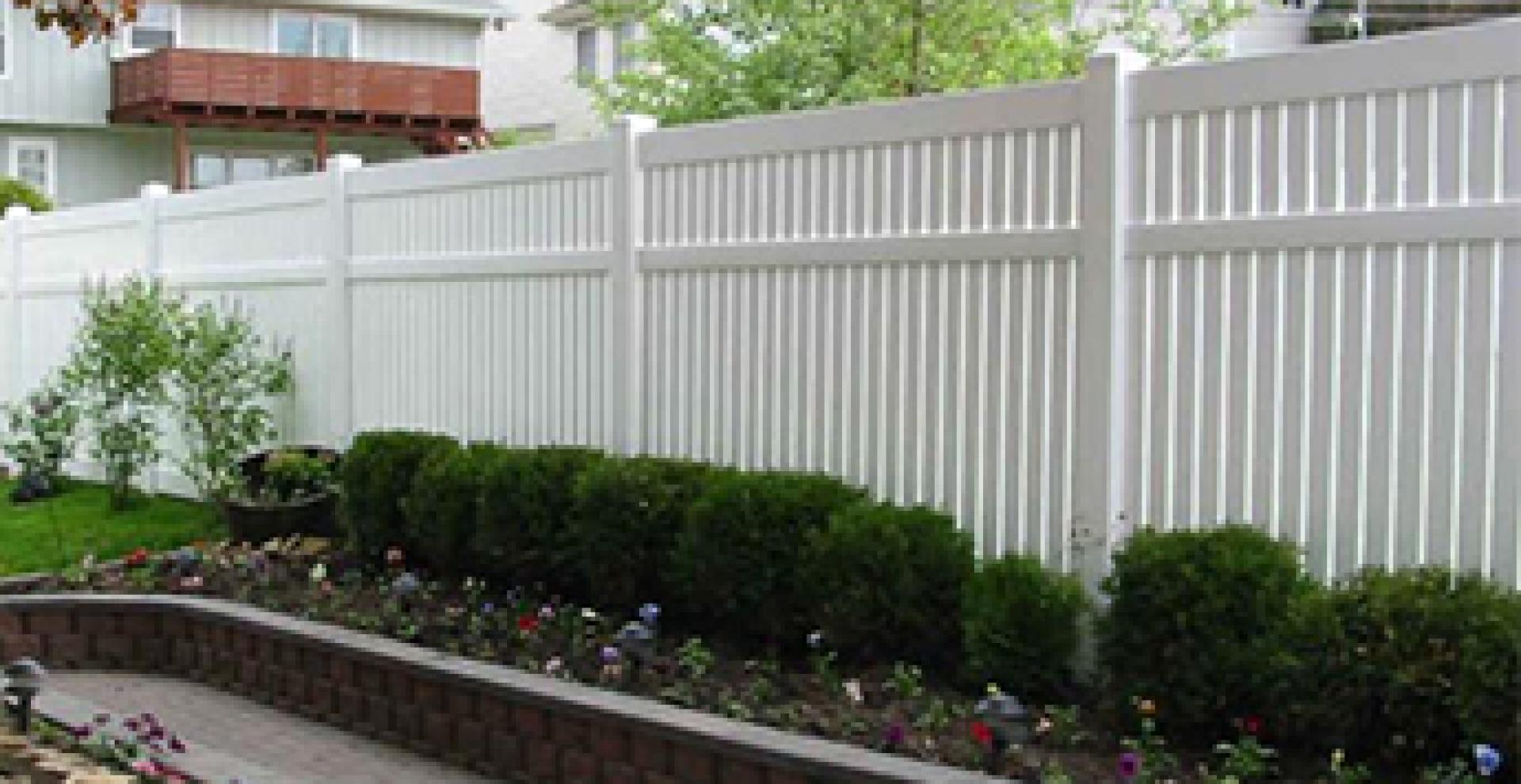 Semi Privacy Vinyl Fences Vinyl Fence Manufacturer