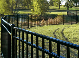 Mansfield Aluminum Fence
