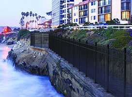 Middleport Aluminum Fence