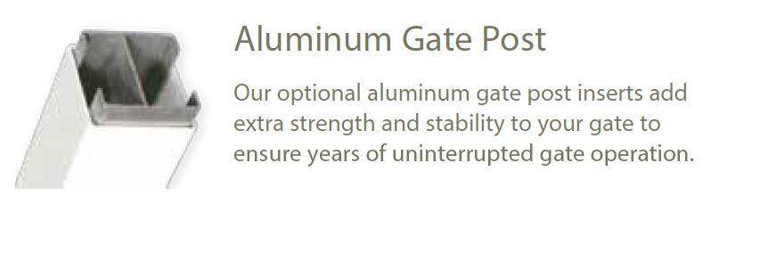 Horse Fence Aluminum Insert